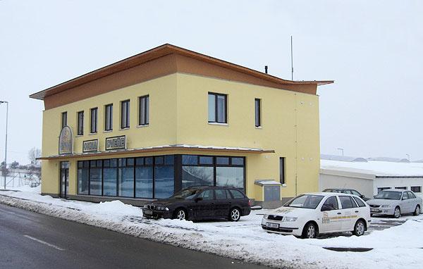 Areál firmy H&M Kuchařovice